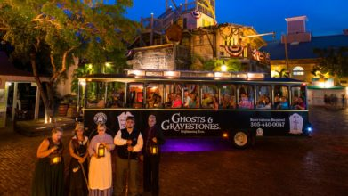 Key West Ghost and Graveyard Tour Trolley Bus
