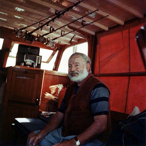 Ernest Hemingway Circa 1950 WikiMedia Commons