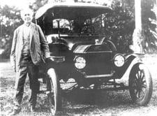 Edison Ford Car rc11236
