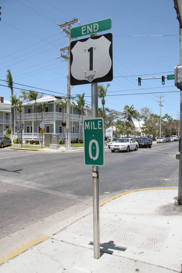 End_of_U.S._Highway 1 Key West Florida