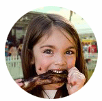 Smoke on the Water brochure-barbecue-girl Circle.png