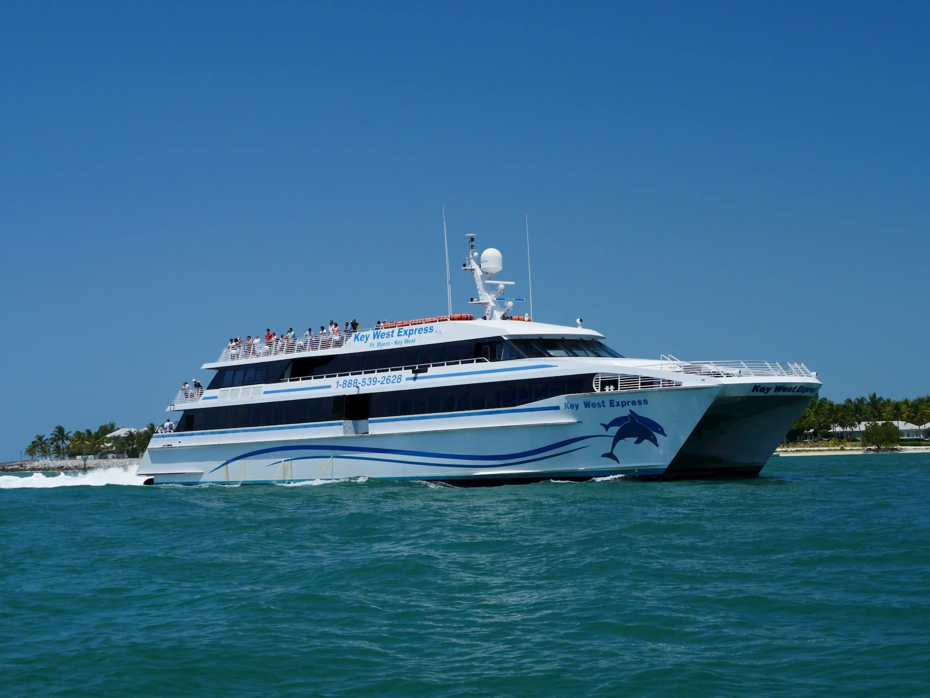 Key West Express in Key West Harbor