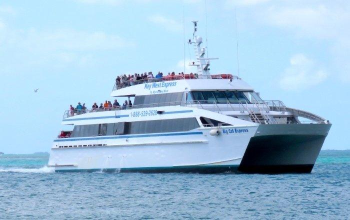 Big Cat Express at Sea