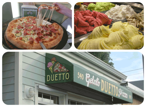 Duetto Pizza and Gelato