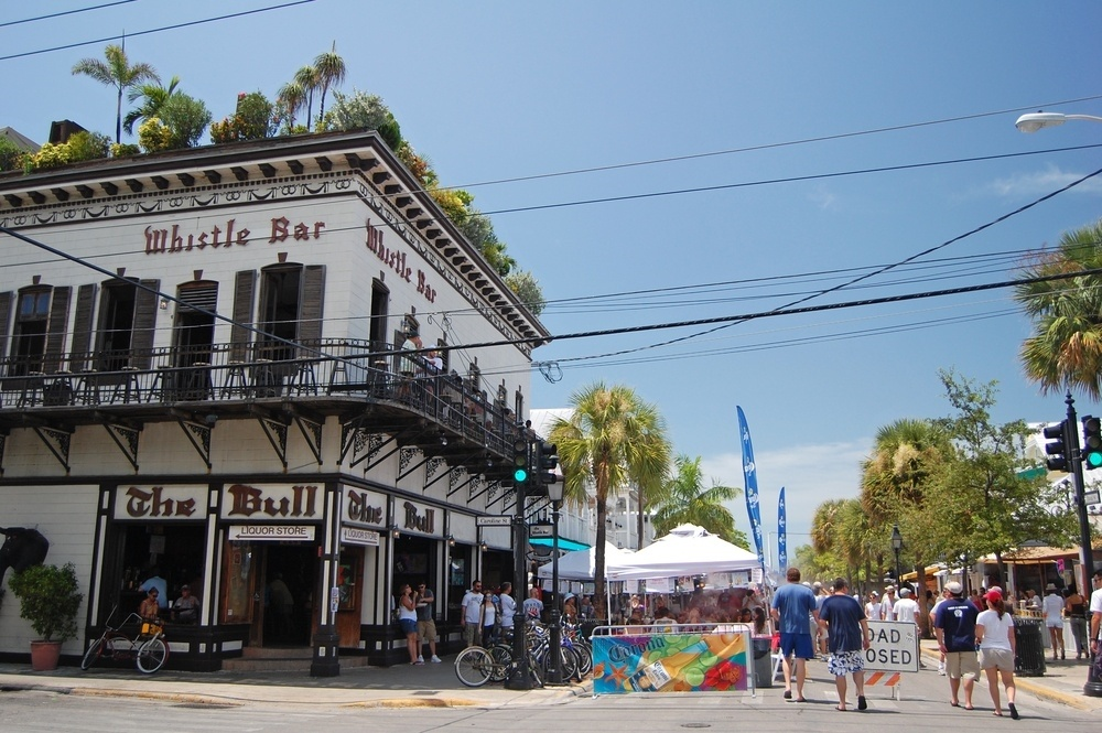 The Bull and Whistle, on Duval Street