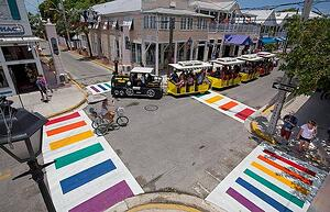 Pride Crossing Walk in Key West