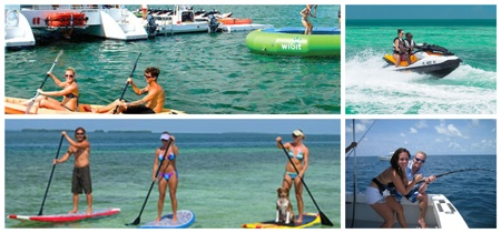 Stand Up Paddleboard, Jetski or fish Key West