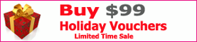 Buy $99 Holiday Vouchers