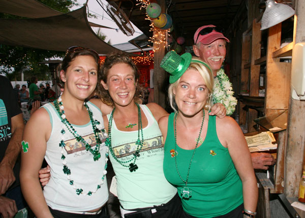 St Patrick's Day at Irish Kevin's in Key West, Florida