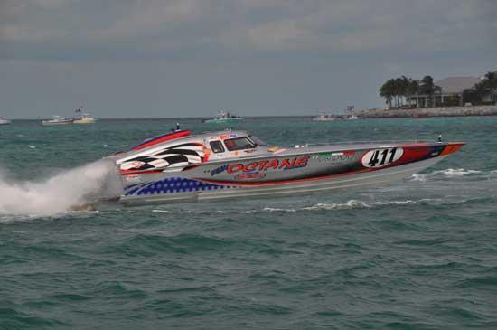 High speed, power boat racing