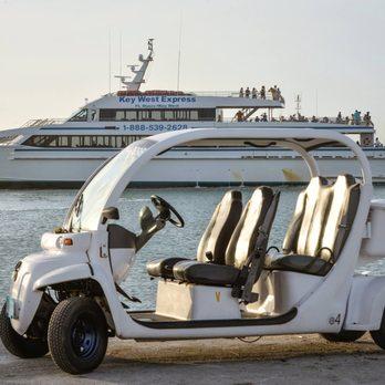 Conch Electric Car in Key West Florida