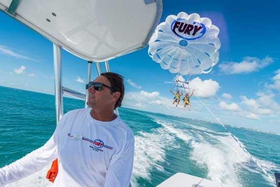 Fury Key West Parasailing