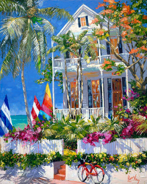 Key West art, from the Gallery on Greene