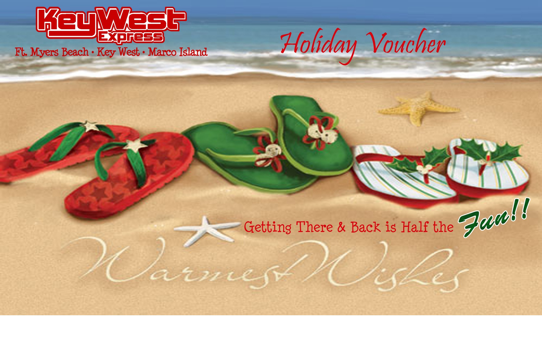 Holiday Voucher\'s are BACK!!