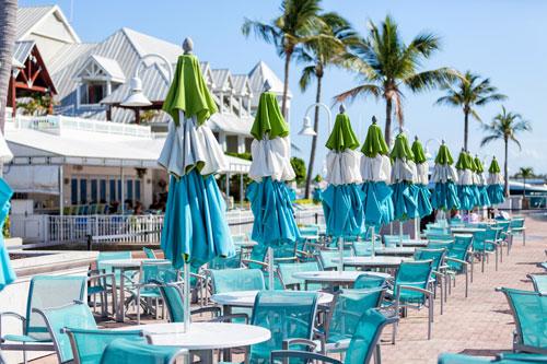 Bistro 245 restaurant at Opal Key Resort